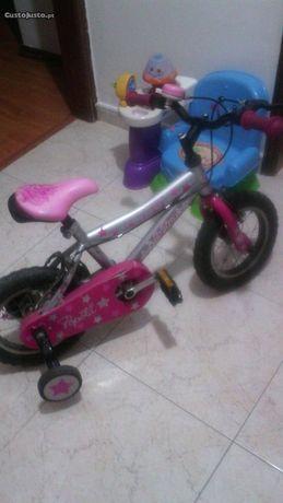 1 Bicicleta de menina