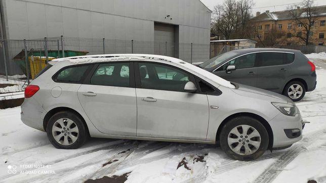 Автошрот Opel Astra j рестайлінг розборка