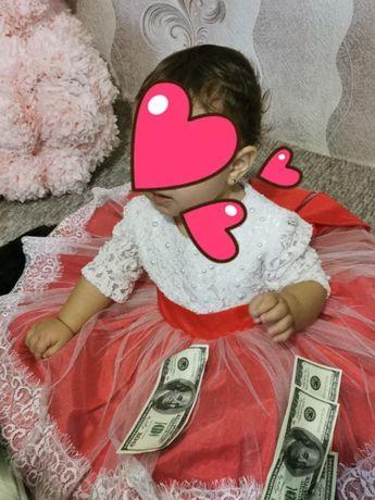 Платтячко для дівчинки на 1 рік