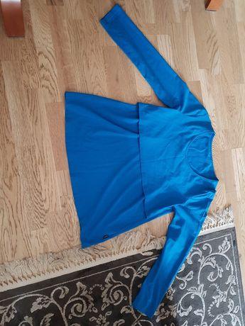 Bluzka ciążowa kolor niebieski