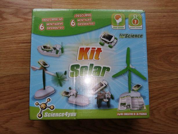 Science 4 you - Kit solar - NOVO
