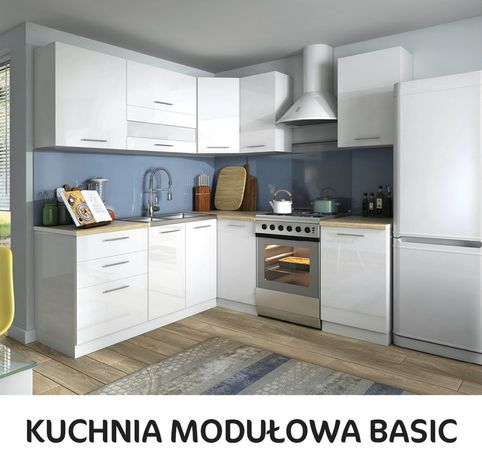Kuchnia basic - tiffany modułowa