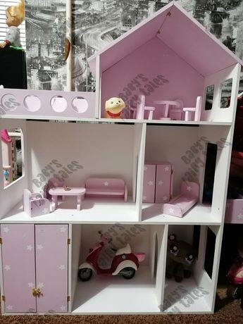 Кукольный домик ЛОЛ Барби и мебель для домика