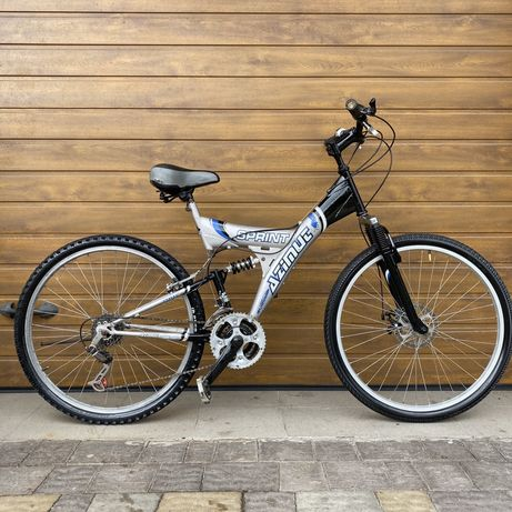 Терміново!!! З Німеччини велосипед ровер горний гірський спортивний 26
