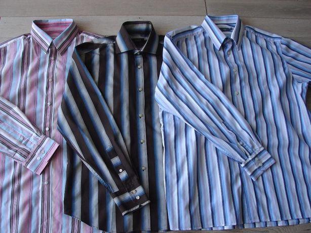 Koszula Męska Burton Next M długi rękaw paski Zamiana