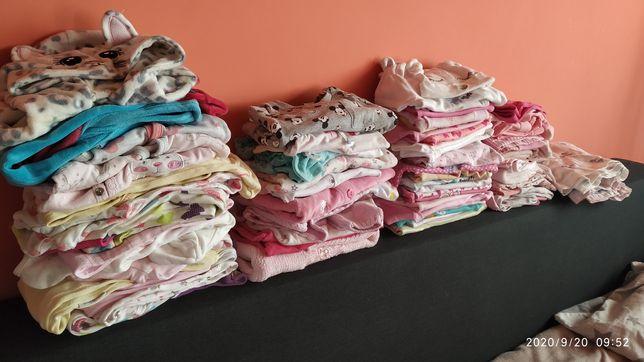 Ubranka 50-56 62 dziewczynka box zestaw ubranek
