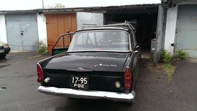 Ретро автомобиль эксклюзивный Москвич 408 черного цвета! Антиквариат