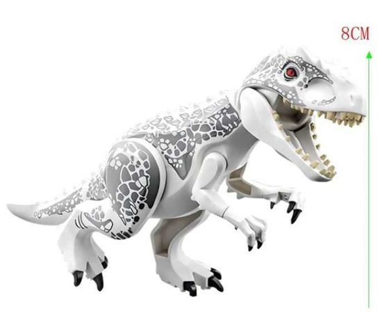 Dinozaur Indominus- figurka Jurassic World, klocki typu lego