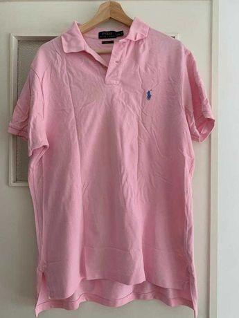 Tshirt Polo Ralph Lauren tamanho L unisexo