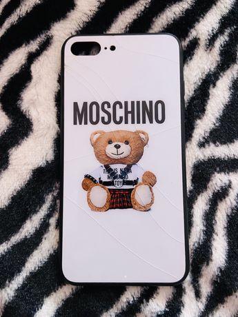 Capa IPhone 7/8 Plus Moschino