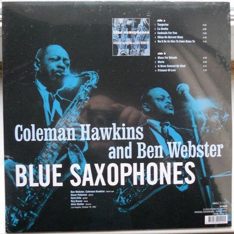 Coleman Hawkins, Ben Webster – Blue Saxophones 1956 (2018)- Запечатан