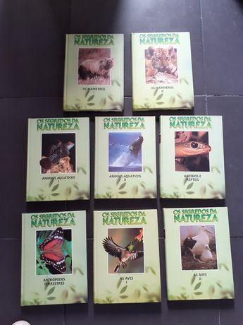 Livros  Os segredos da natureza : conj 8 unidades