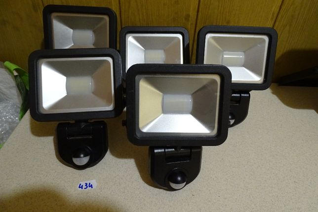 lampa led z czujnikiem ruchu 10 watt