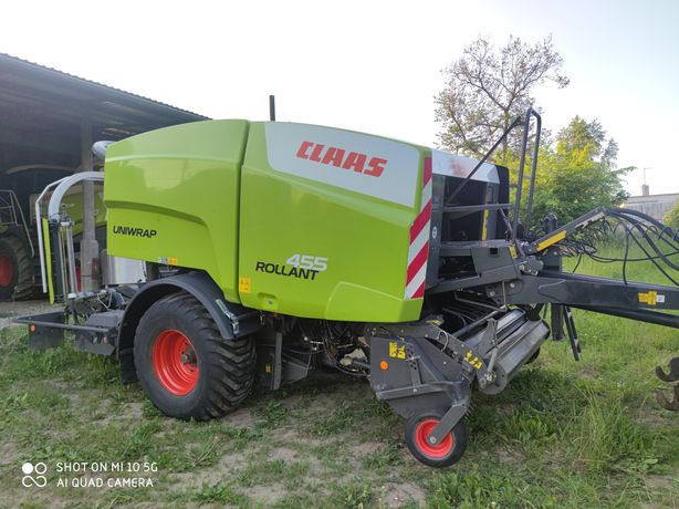 Claas rollant 455 UNIWRAP rok prod 2011