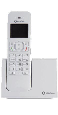 Telefone sem fios Vodafone Dect - NOVO - funciona em todas as redes