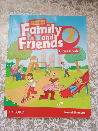 Family and Friends - 2 частина (Class book + Workbook)
