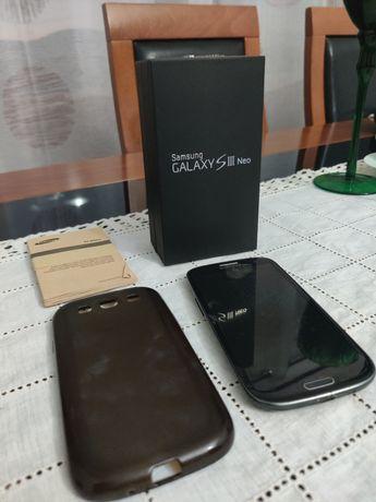 Samsung Galaxy S3 Neo + Capa Silicone