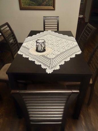 Stół na 8 osób + krzesła