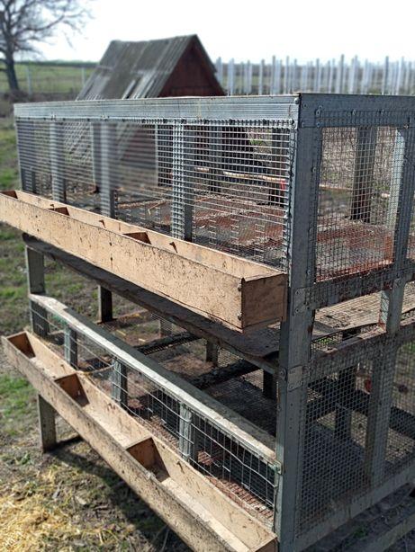 Клеткы для бройлеров,курей,кроликов