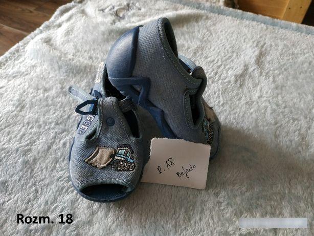 Buciki dziecięce chłopięce 18, sandałki