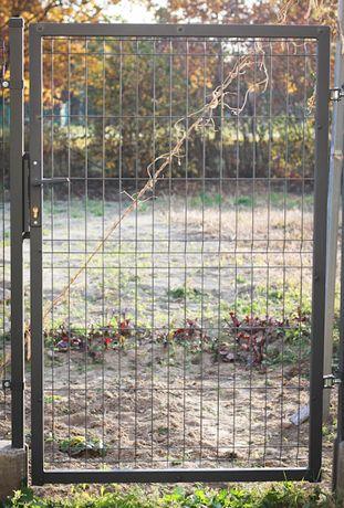 Furtka ogrodzeniowa ocynkowana i malowana proszkowo 1,5m