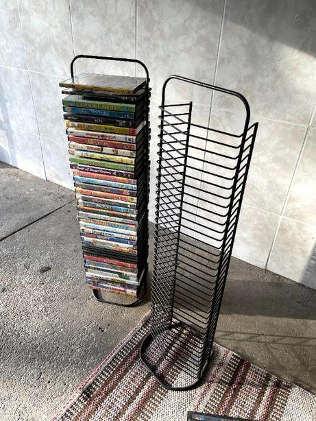 Porta DVDs (ou livros) em metal