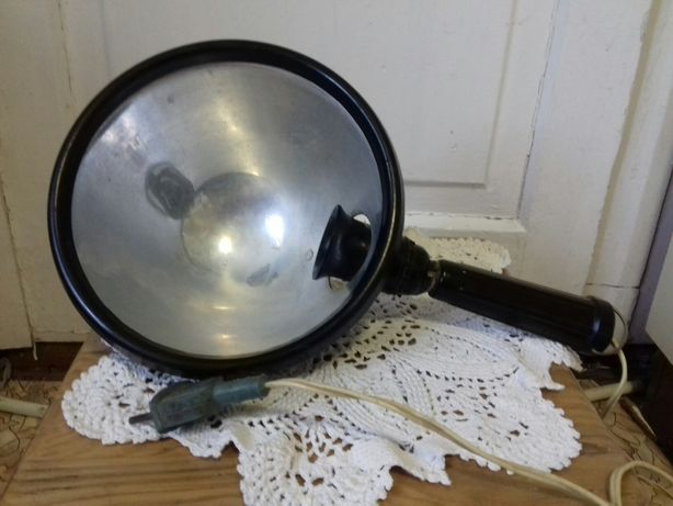 Синяя лампа рефлектор