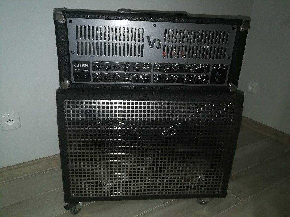 Wzmacniacz gitarowy Carvin V3 z kolumną głośnikową 150W Legnica - image 1
