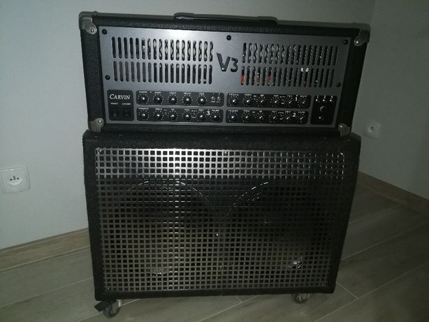 Wzmacniacz gitarowy Carvin V3 z kolumną głośnikową 150W