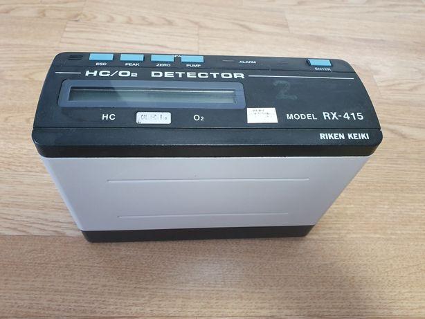 RIKEN KEIKI RX-415 газоанализатор HC/O2 VOL/LEL/O2 газ детектор