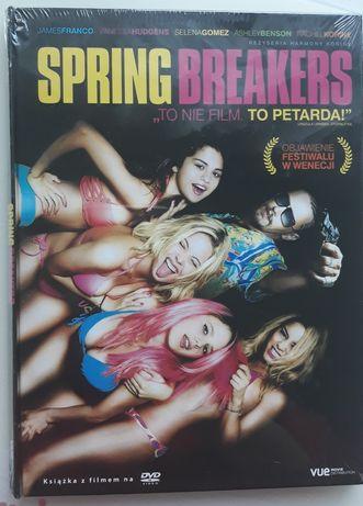 dvd SPRING BREAKERS, nowe, zafoliowane/Franco,Hudgens,Gomez,Benson/