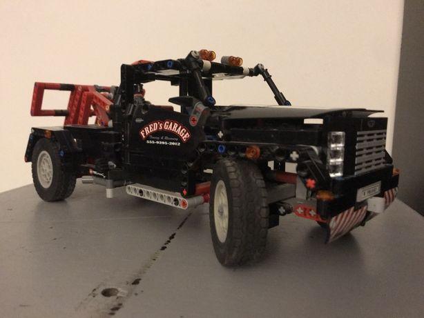 Lego technic 9395 ciezarowka pomoc drogowa