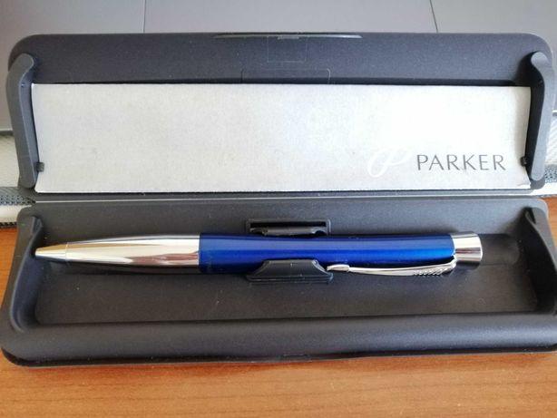Caneta Parker Azul