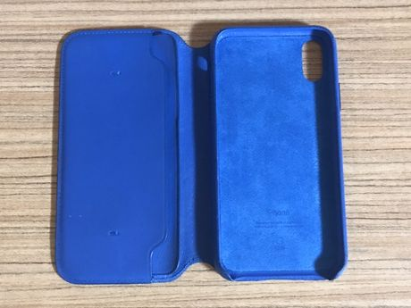 Кожаный чехол-книжка IPhone X, XS, XR