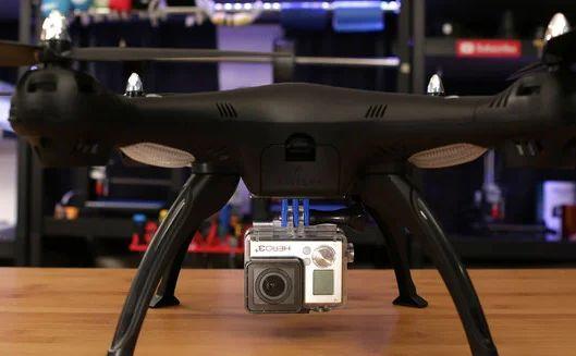 Akcesoria do GO PRO (uchwyt, osłona, obudowa) Dron, nagrywanie DRUK 3D