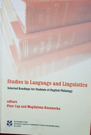 Studies in language and linguistics P. Cap, M. Kozanecka