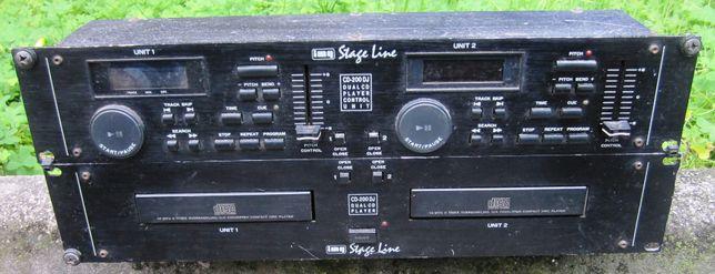 Leitor CD duplo IMG Stage Line