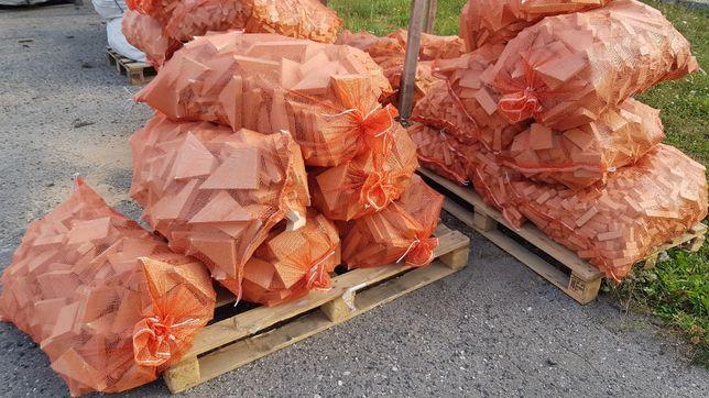 drewno opałowe worki 60x110cm