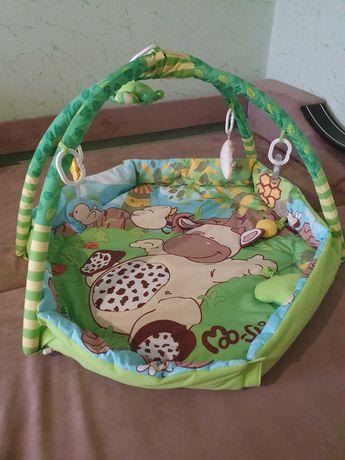 """Развивающий коврик """"Веселая ферма"""" Canpol Babies"""