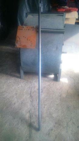 wałek fi 30mm pod łożyska i 28mm pod koło pasowe długość 1,55m
