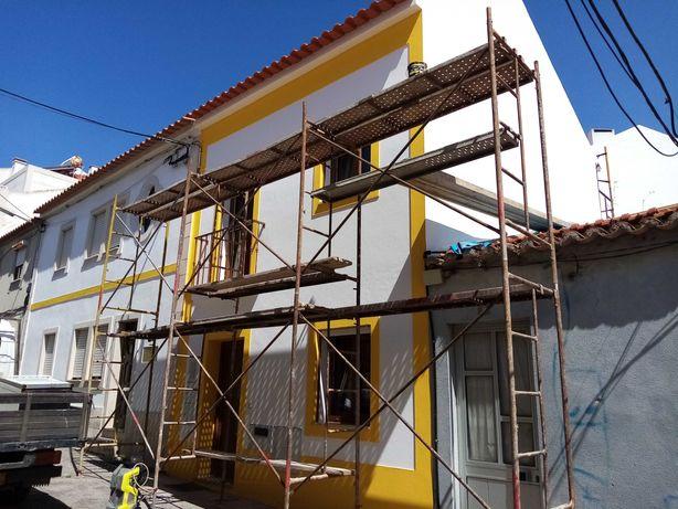 Reconstrução e remodelação de casas e edifícios