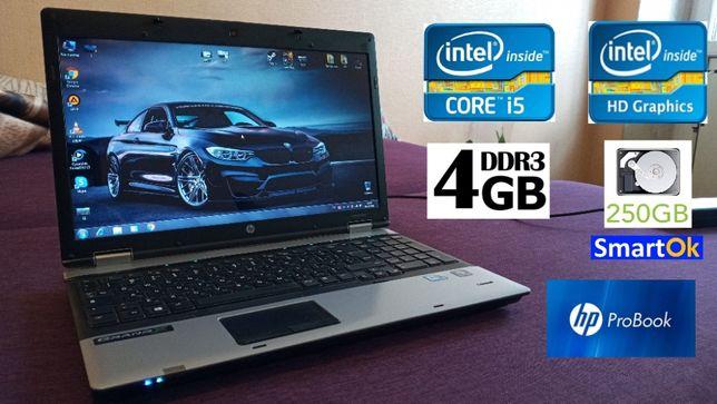 Бизнес HP ProBook 6550b Core™ i5 RAM 4 GB HDD 250 GB Intel HD