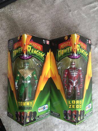 Power Rangers Legacy Green Ranger i Lprd Zedd Toys r us exclusive