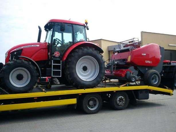 transport maszyn rolniczych , budowlanych , pomoc drogowa,holowanie