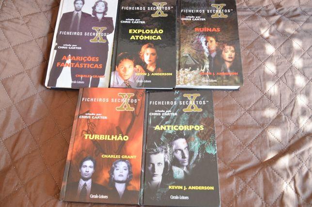 5 Livros Ficheiros secretos