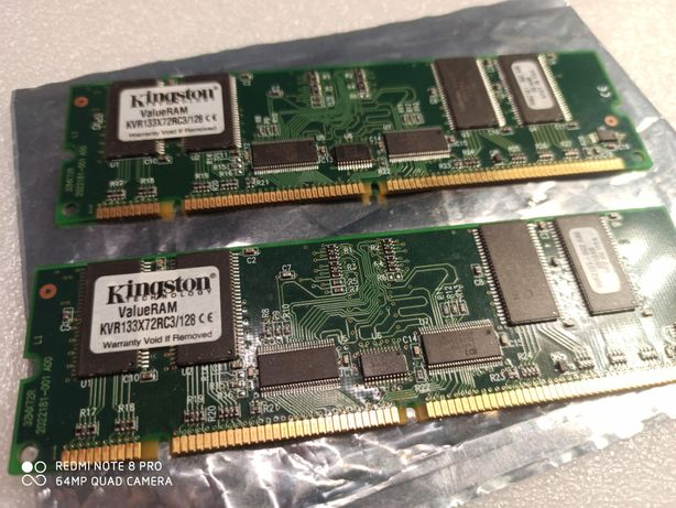 Sd Ram Kingston 2x128 MB