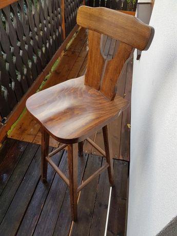 HOKER hokery stare z lat 70' VINTAGE retro 3 sztuki krzesło