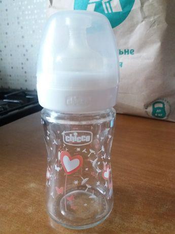 Chicco бутылочка стекло