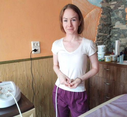 Массаж для женщин, антицеллюлитный массаж на тёплом столе