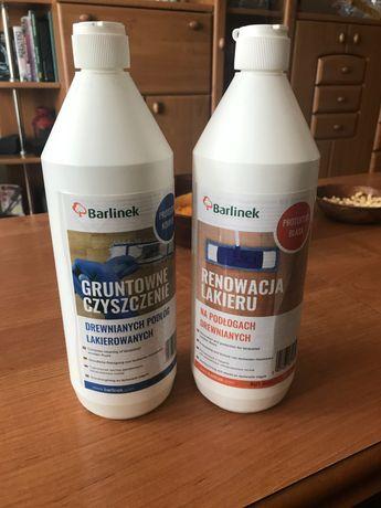 Środki do podłóg drewnianych -Barlinek 1l ( 2 butelki)